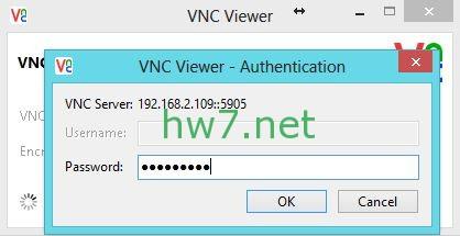 CentOS 7 - VNC Authendication